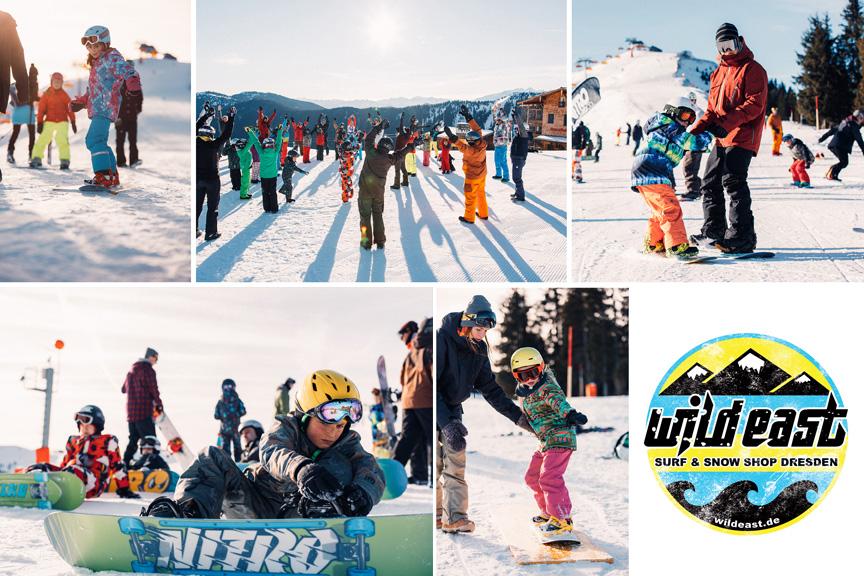 Snowboard Kurse - Wild East Dresden