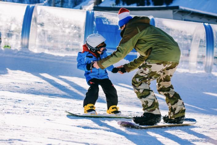 Snowboard Kurs - Wild East Dresden