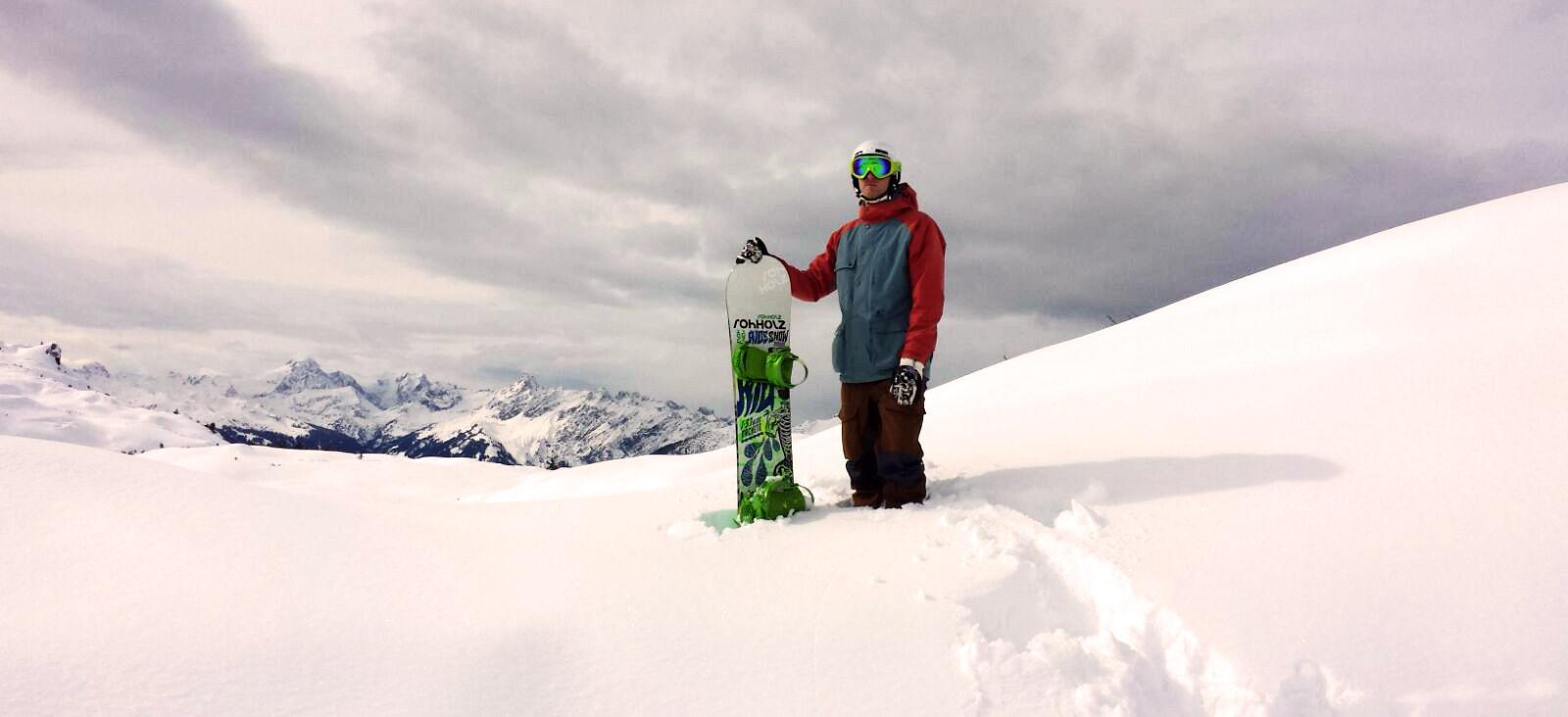 Freeriding Arlberg