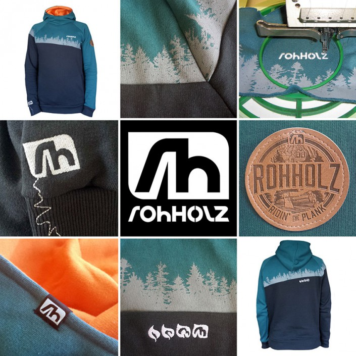 Rohholz Forest Hoodie