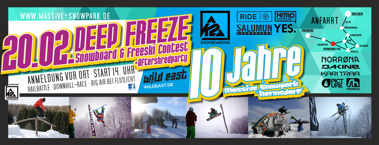 Snowboard & Freeski Contest