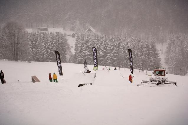 Wild East - Deep Freeze Snowboard & Freeski Contest