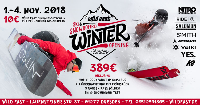 Wild East Winter Opening Soelden 2018