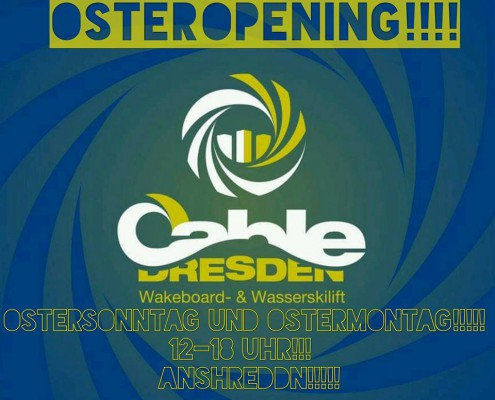 Wakeboard Oster Opening