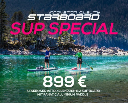 Starboard SUP Special - Wild East Dresden