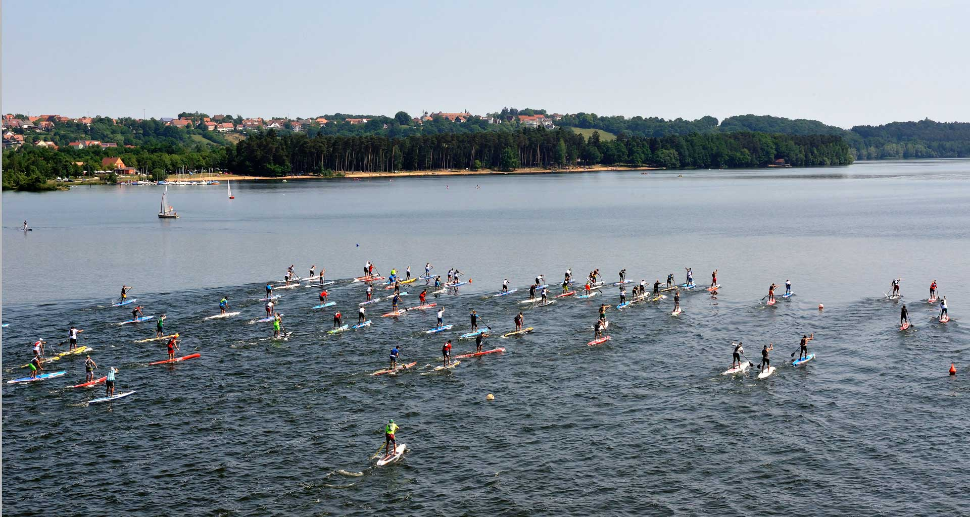 Lost Mills SUP Race - Wild East Dresden