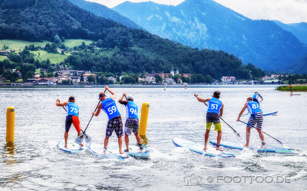 SUP Cup am Tegernsee