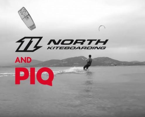 North Kiteboarding and PIQ Sport Tracker
