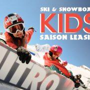 Ski & Snowboard Saison Leasing für Kinder - Wild East