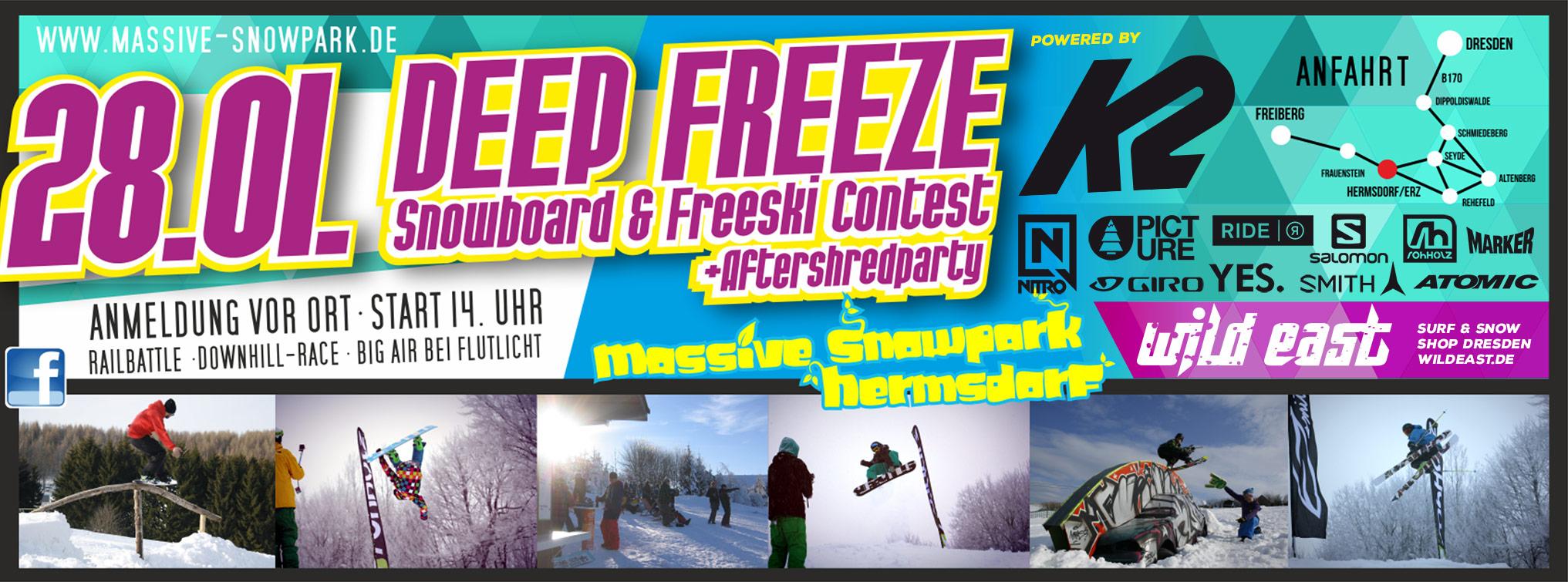 Snowboard & Freeski Contest Hermsdorf