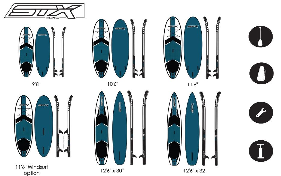 STX Stand Up Paddle - Wild East Dresden