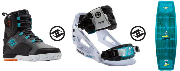 Hyperlite Wakeboards & System Bindings
