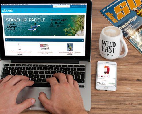 Wild East Surf & Snow Onlineshop
