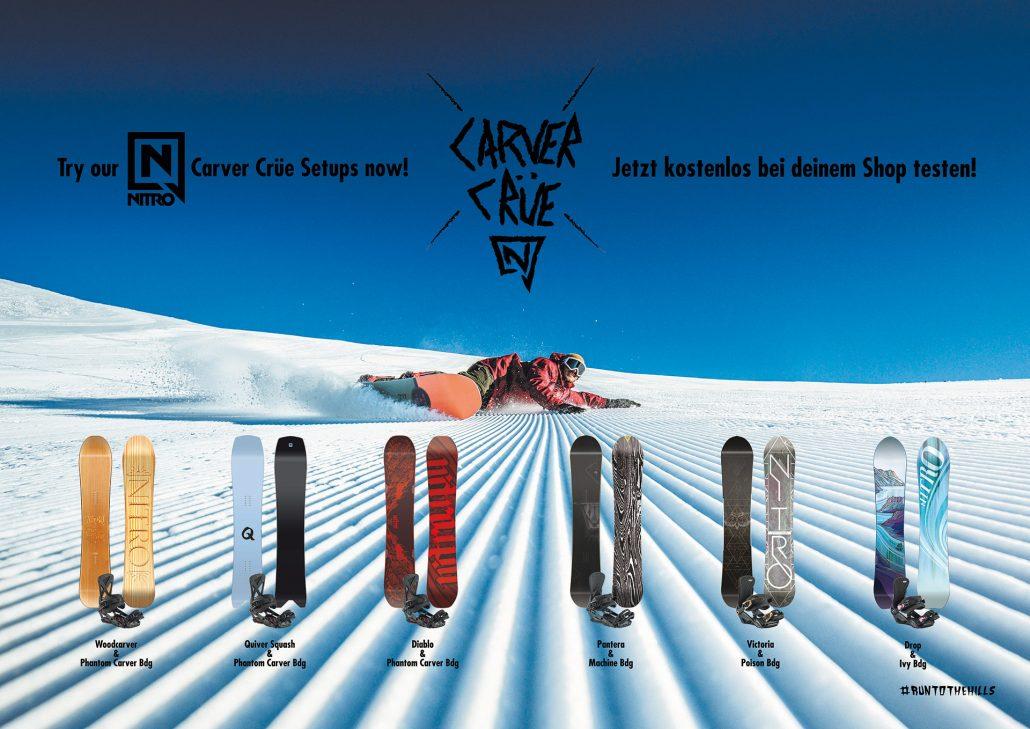 Nitro Carver Snowboards Test
