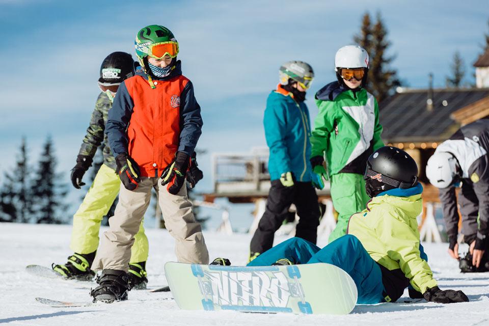 Wild East Snowboardkurs Kidscamp