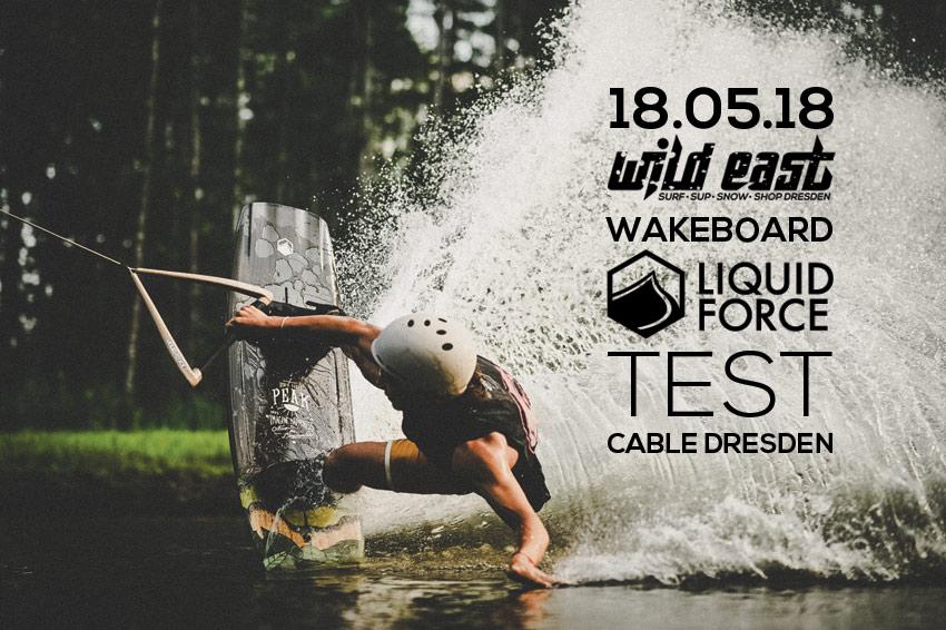 Liquid Force Wakeboard Test