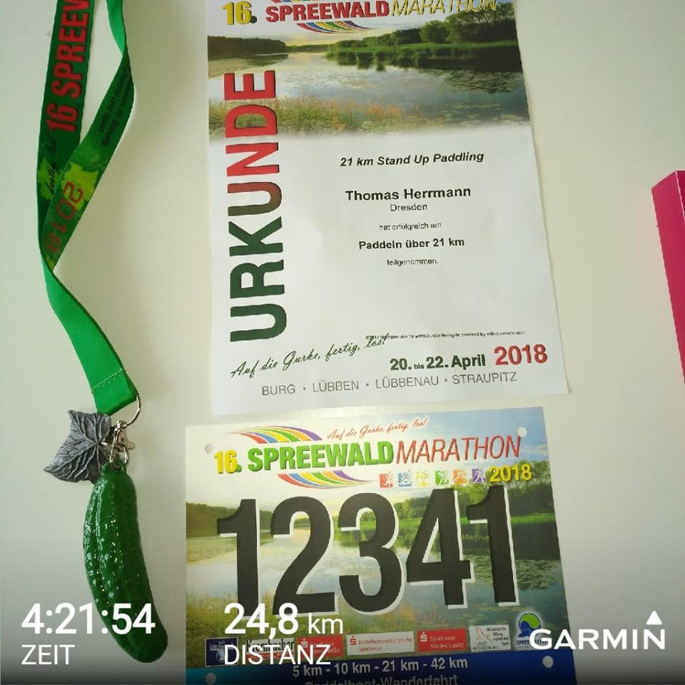 SUP Touren Spreewaldmarathon