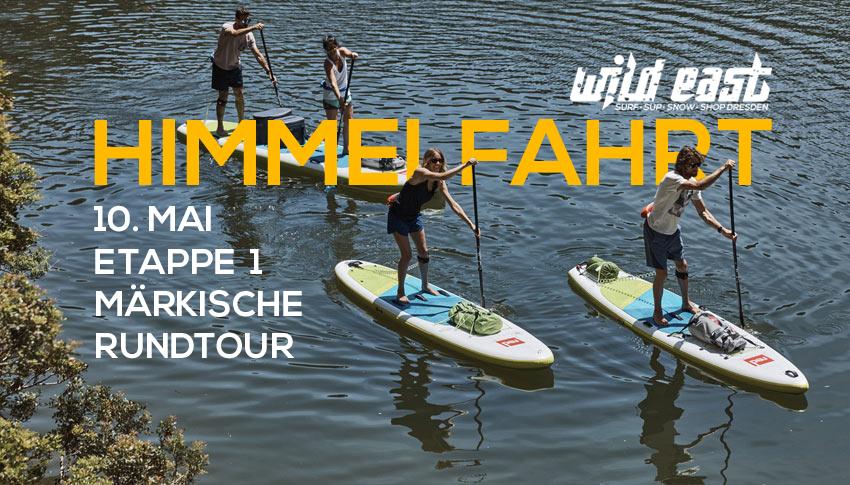 SUP Tour Himmelfahrt - Wild East