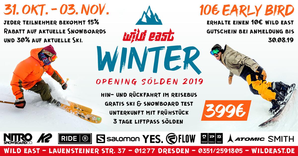 Sölden Winter Opening 2019