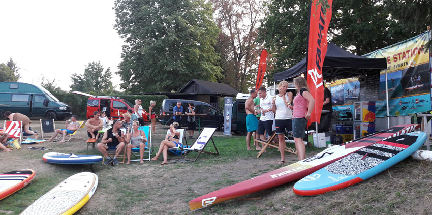 Wild East Sup Station 2021 Talsperre Malter