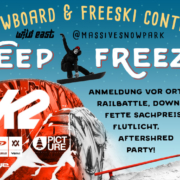 Deep Freeze Snowboard & Freeski Contest
