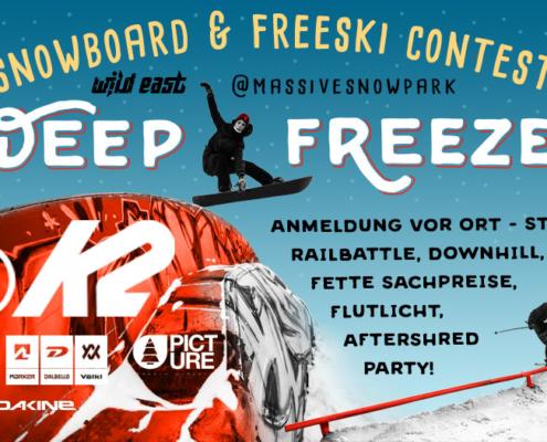 Deep Freeze Snowboard & Freeski Contest
