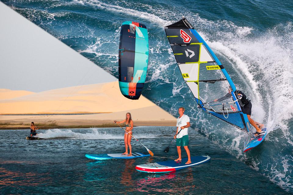 Start in die Wassersport Saison mit SUP, Kite und Windsurf