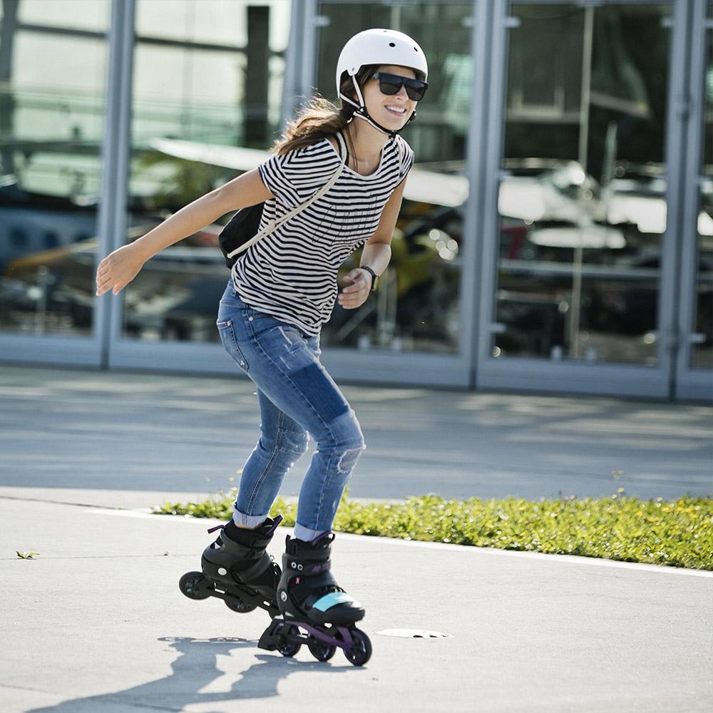 Skate durch Deinen Frühling